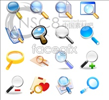 The magnifying glass icon