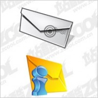 Link toThe mail theme cool icon psd layered