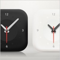 Link toThe minimalist clock icon psd layered