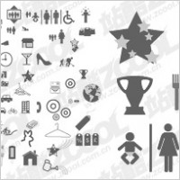 Link toThe more common vector graphics icon material
