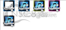 Link toThe music player icon