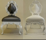 Link toThe new model of european baroque-style chairs 3d model