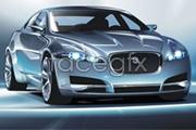 Link toThe perfect jaguar c-xf car vector
