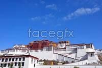 The potala palace panorama