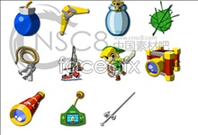 Link toThe props of the twilight princess icons