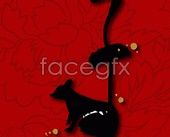Link toThe rat chinese new year vector map 45