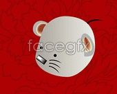 Link toThe rat chinese new year vector map 61