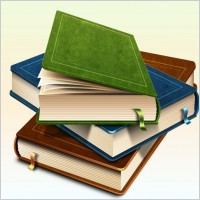 Link toThe realistic book iconpsd layered