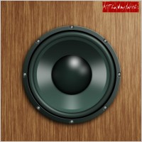 Link toThe realistic stereo speakers psd source files