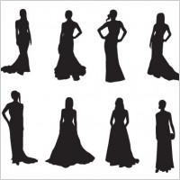 Link toThe red carpet:20 celebrities silhouettes