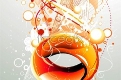 Link tovector background line moving ring The