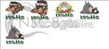 The series of totoro icon