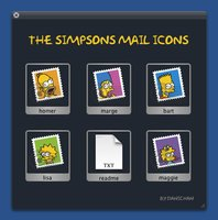Link toThe simpsons mail icons