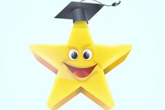 Link toThe stars wear doctoral hat vector