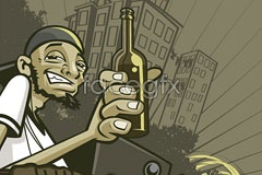 Link toThe streets of new york street artists vector