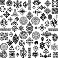 Link toThe style of ancient pattern vector