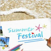 Link toThe summer creative poster template stratified