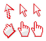 Link toThe system mouse pointer