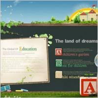 Link toThe teaching poster design template psd 2