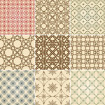 Link toThe traditional pattern design vector