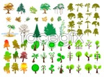 Link toThe trees series vector