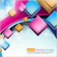 Link toThe trend of dynamic flare background 02 vector