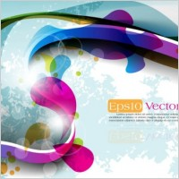 Link toThe trend of dynamic flare background 05 vector