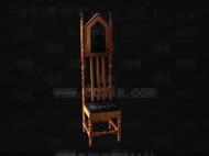 Link toThe unique shape wooden chair 3d model