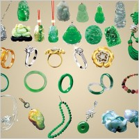 Link toThe various jade ornaments jewelry psd summary