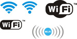 Link toThe wifi icon vector