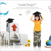 Link toThe young students posters psd 3