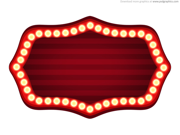 Link toTheater sign template (psd)