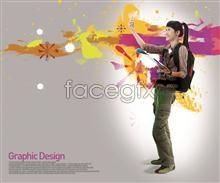 Link toTheir beautiful design elements psd