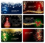 Link toTheme christmas cards vector
