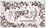Link toThick, fashion pattern vector