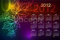 Link toThree beautiful 2012 calendar template vector