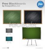 Link toThree blackboards psd