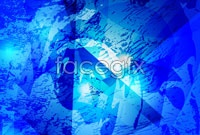 Link toThree blue tech background vector