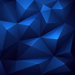 Link toThree-dimensional polygon background vector