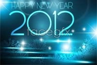 Link toThree for three new year's day background vector