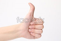 Link toThumb up sign hd photo