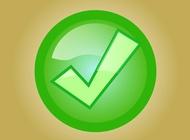 Tick symbol vector free
