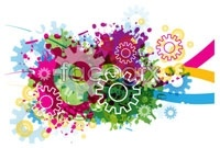 Link toTide gears background vector