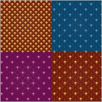Link toTiled background pattern vector fashion
