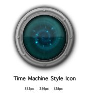 Link toTime machine style icon