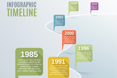 Link toTimeline of fashion business information vector charts