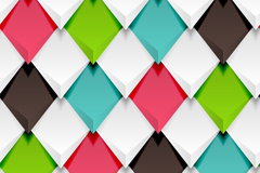 Link toTinted solid diamond background arrow amount of vector
