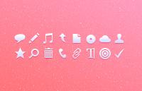 Tiny icons psd