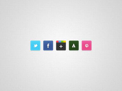 Link toTiny social icons psd