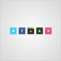 Link toTiny social icons